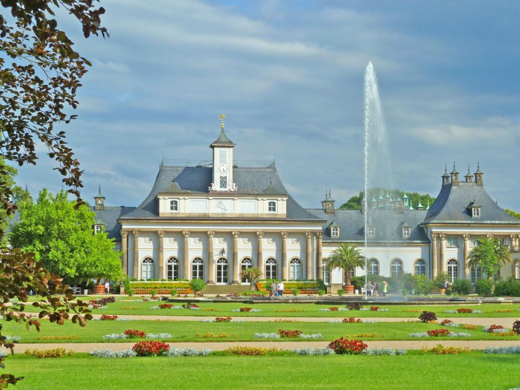 Blick auf das Neue Palais