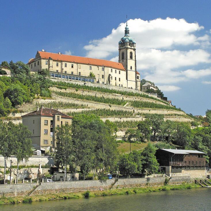 Schloss Melnik in Mittelböhmen